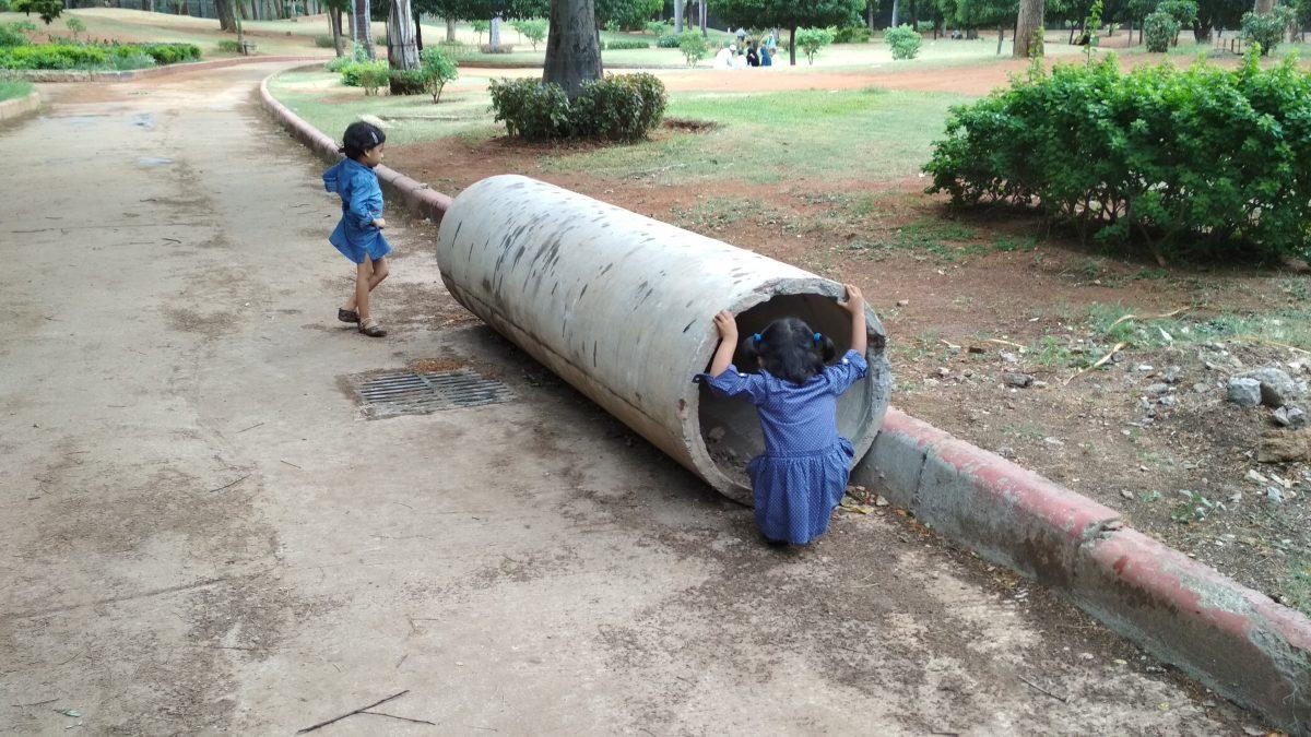 Visit to Chacha Nehru Park, Hyderabad