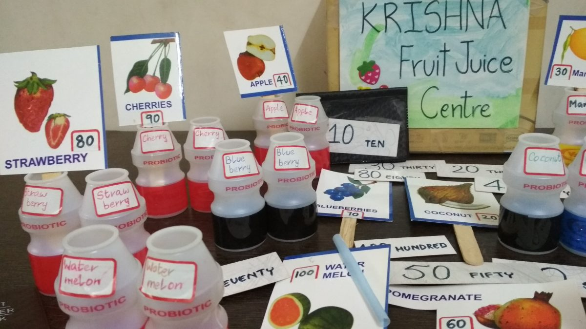 Counting to 100 by 10s: Krishna Fruit Juice Centre