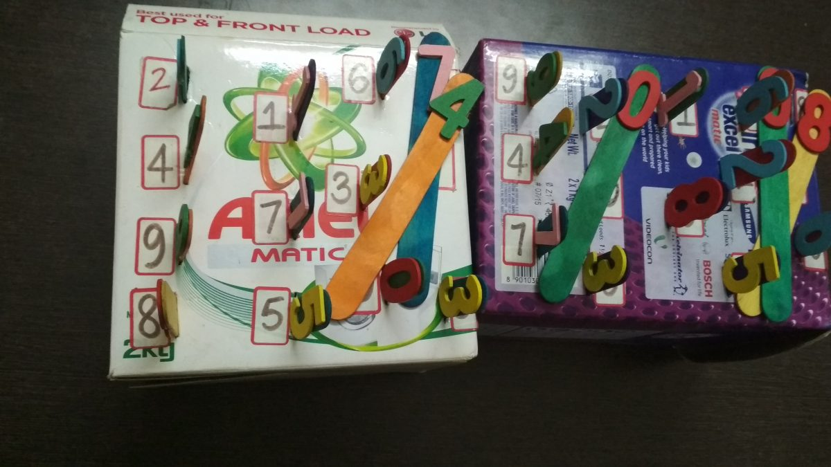 Number Recognition Activity 0-9